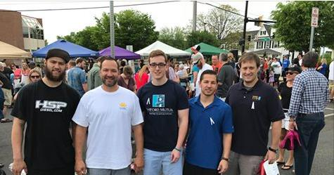Harford Mutual Insurance team PUMPED UP at SARC's 9th Annual Walk-a-Mile In Her Shoes